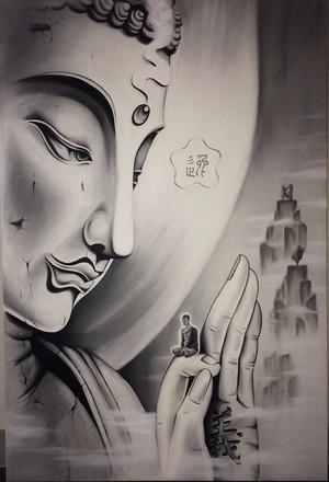 Buddha and Munk
