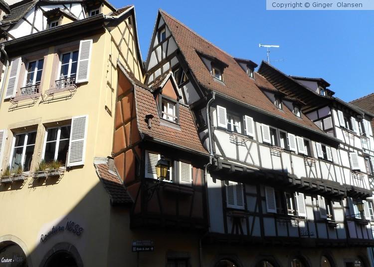 Germany, Breisach and France, Colmar