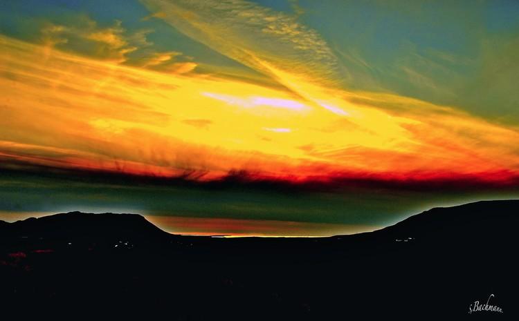 Magnificent twilight.