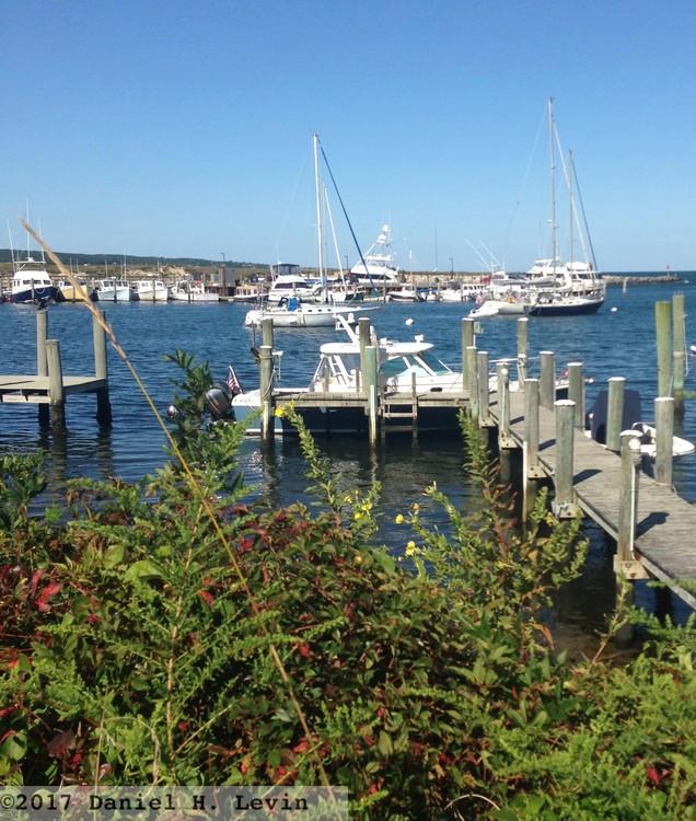 Centered on Boats, Menemsha Harbor