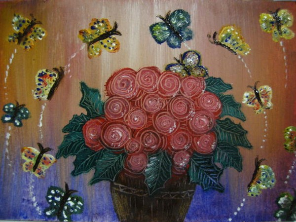 Butterflys & flowers