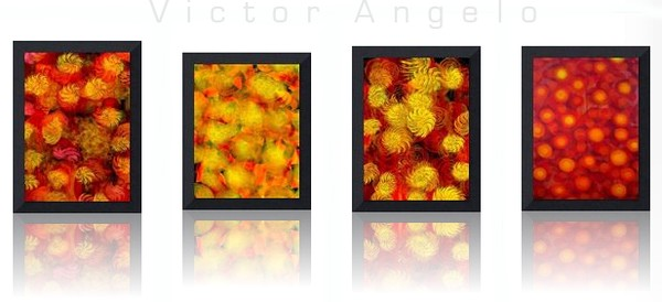 Victor Angelo, Rising, Framed Editions from Paintings, 2000