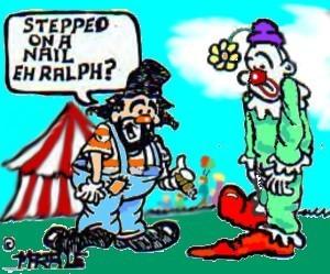Clown flat