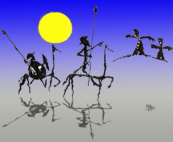 Don quijote y SanchoPanza-Digital