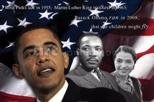 Obama Parks King