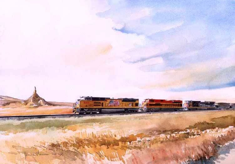 Union Pacific @ Chimney Rock