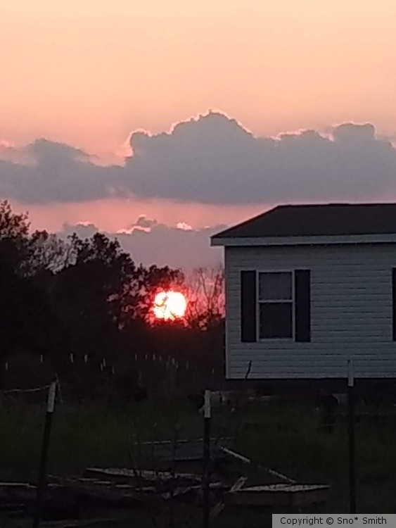 Sunset after Hurricane Florence.