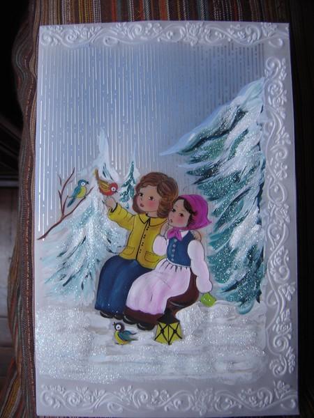 Tarjetas de navidad 2009 by carmen aldana - Tarjetas con motivos navidenos ...