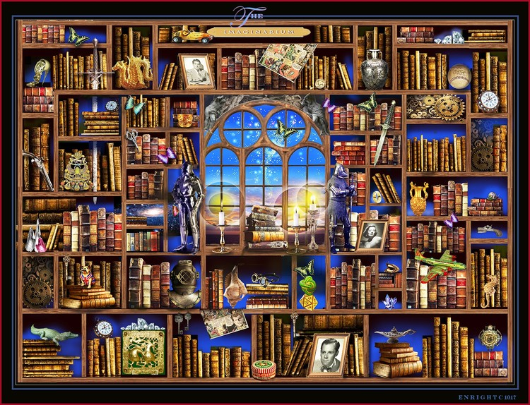 The ILLUMINARIUM ( Library of Dreams)