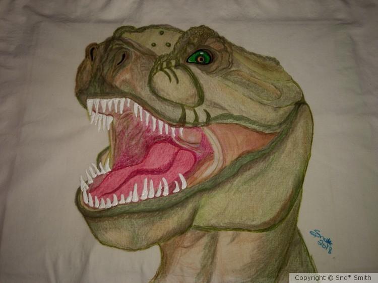 T-Rex travel pillow
