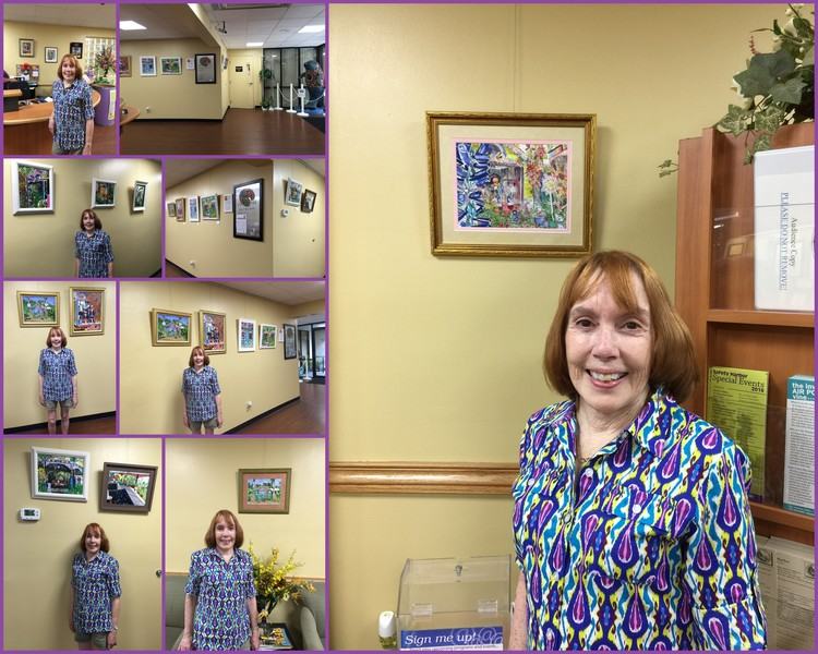 My Safety Harbor City Hall Art Show