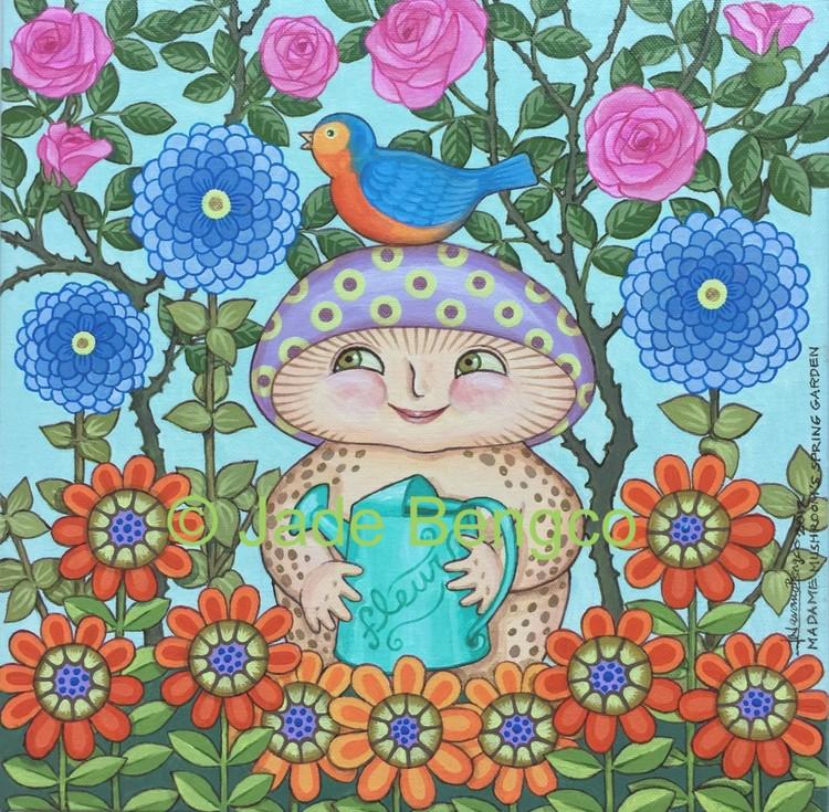 Madame Mushroom's Spring Garden