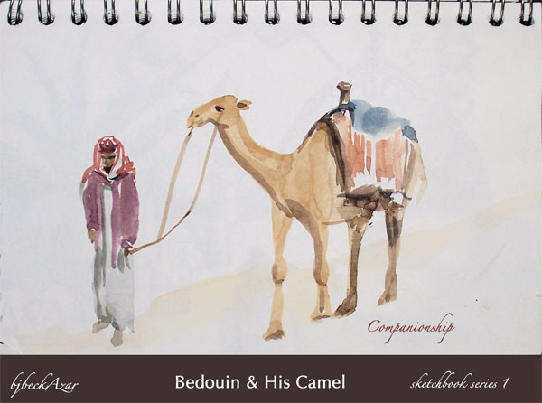 Bedouin & His Camel