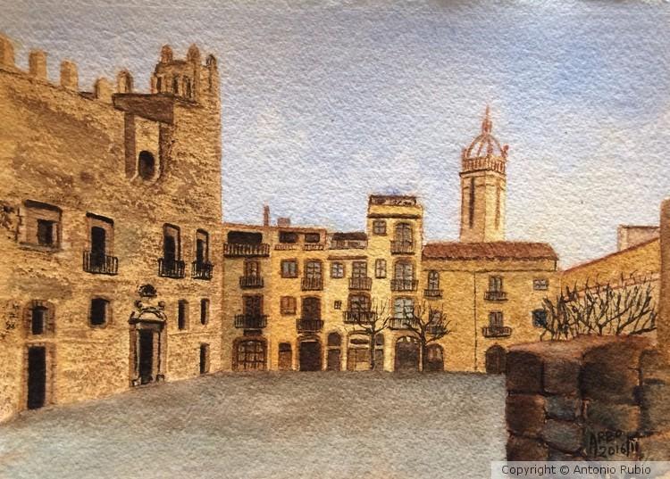 Plaça del Castell