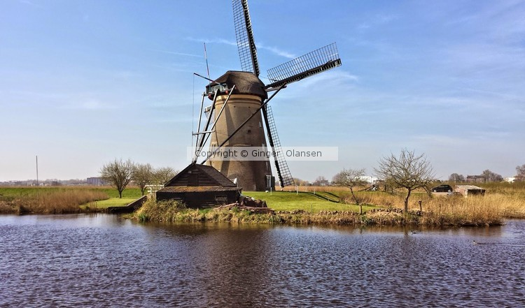 Kinderdijk, Windmills of Netherlands