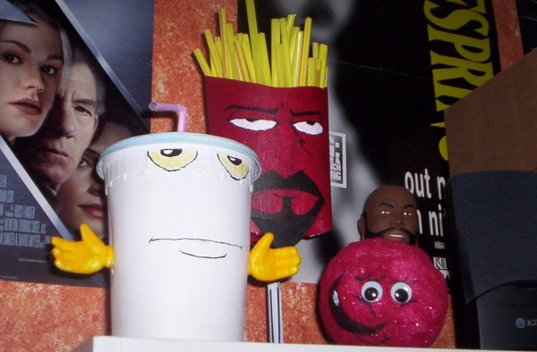 Aqua teen hunger force figures