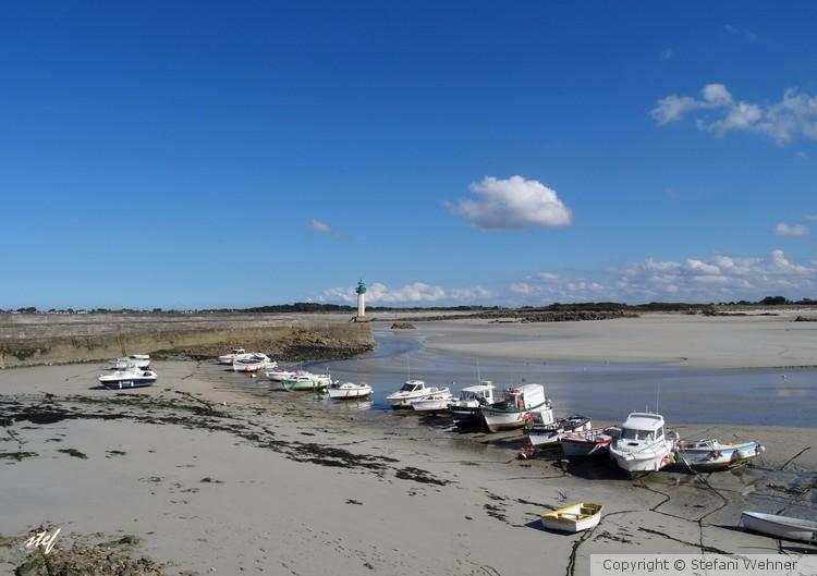 low tide at the Atlantic coast