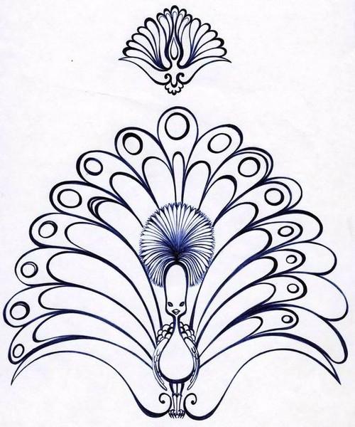 عکس طاووس برای ویترای