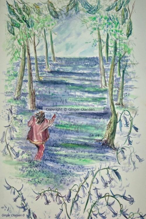 Running through the Blue Bells