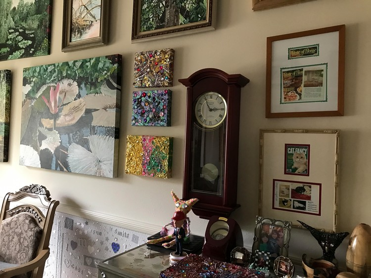 More Jewel Paintings on the Wall