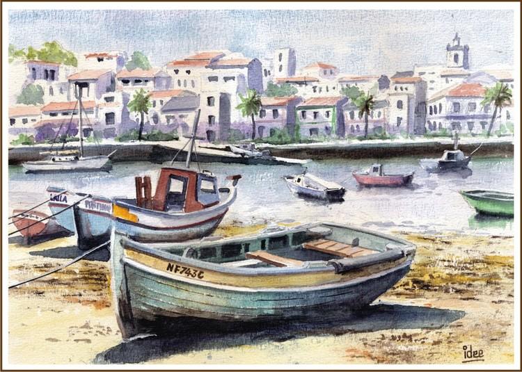 Local Fishing boats in Algarve