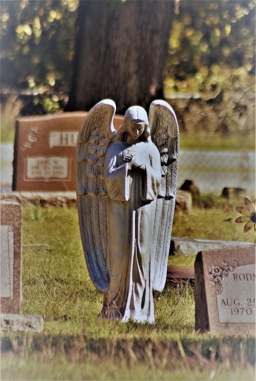 Praying Angel - Gordonville Cemetery
