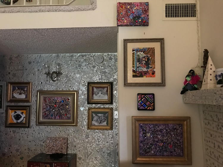 3 Jewel Paintings on the Wall