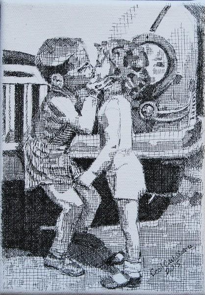 Kiss By Car