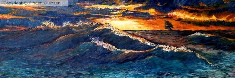 The Storm Breaks - by Ginger Olansen