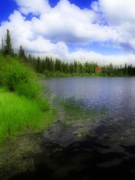 British Columbia Lake Scene