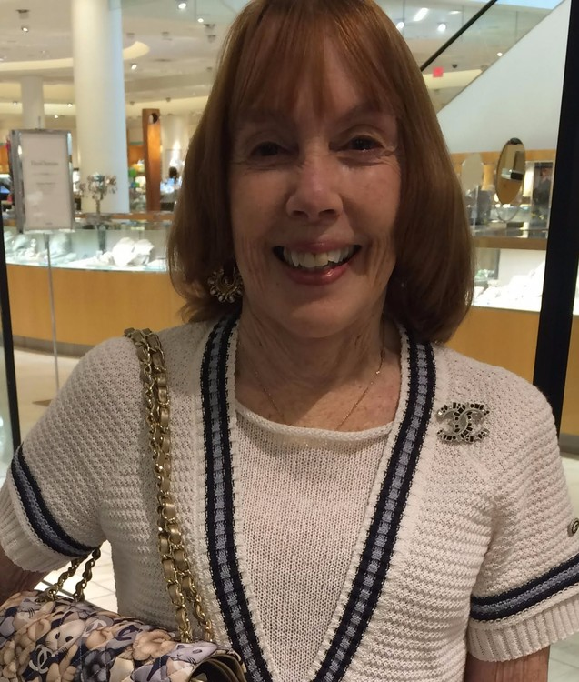Moi at International Mall Tampa yesterday