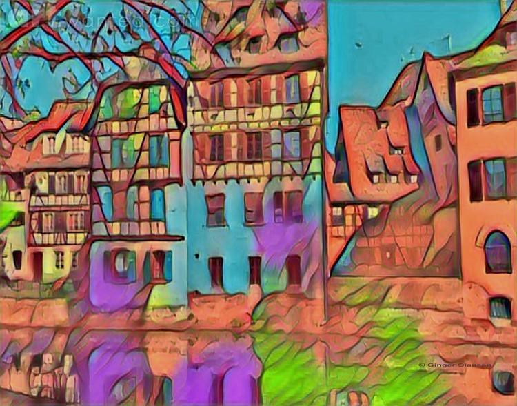 Digitital Architectural- European Streets