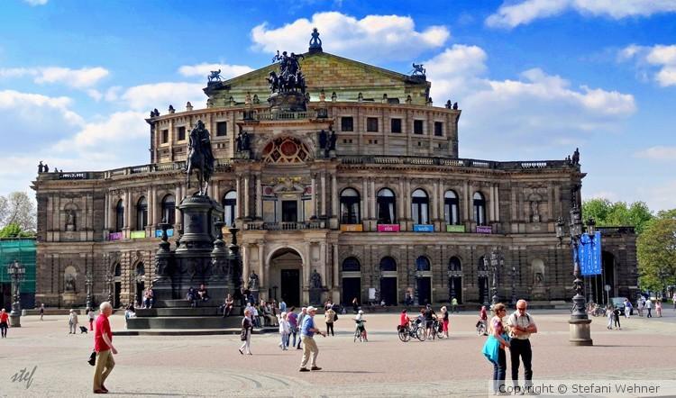 operahouse in Dresden