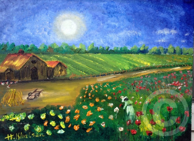 Lady farm