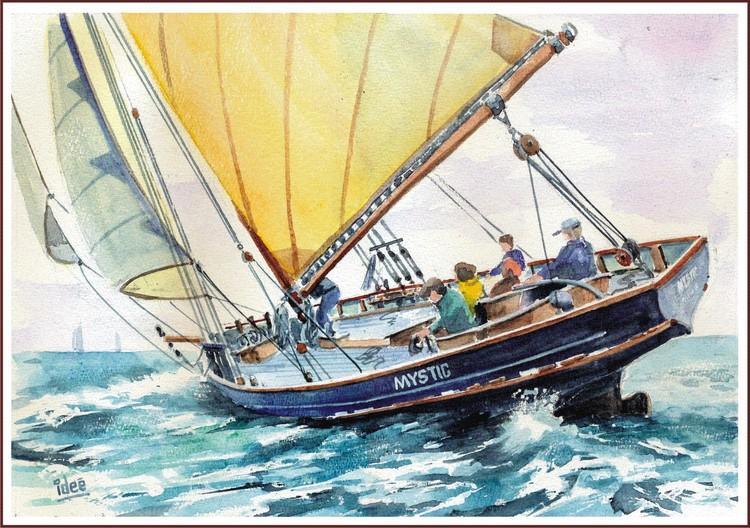 A family sailing trip