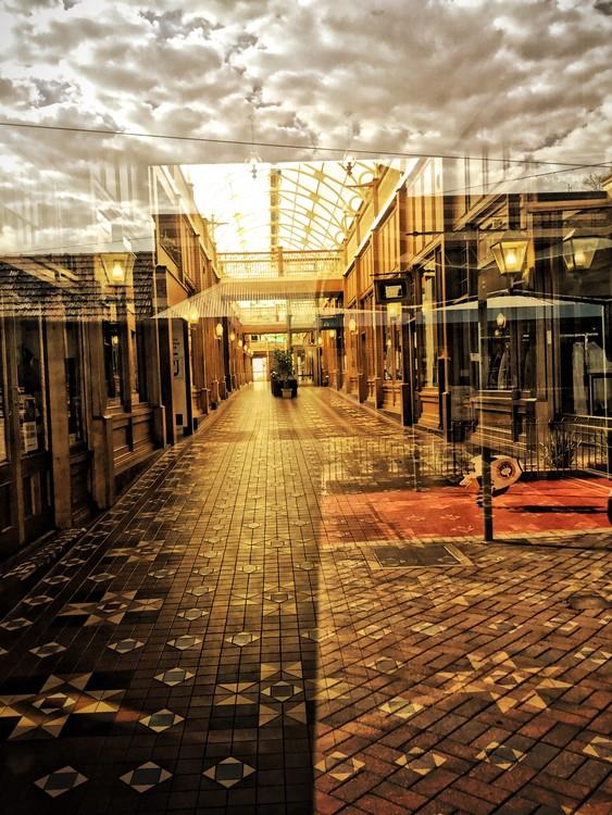 Early Morning Arcade - Armidale NSW