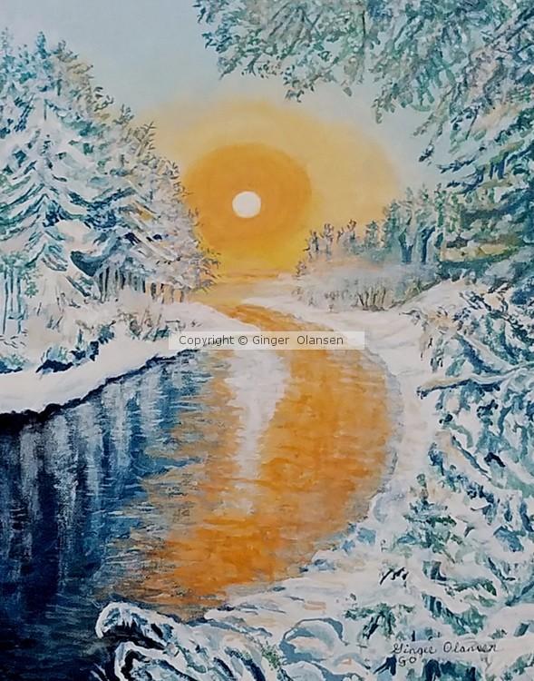 Winter Sunset 3