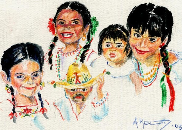 children of Mexico - Three Kings Day