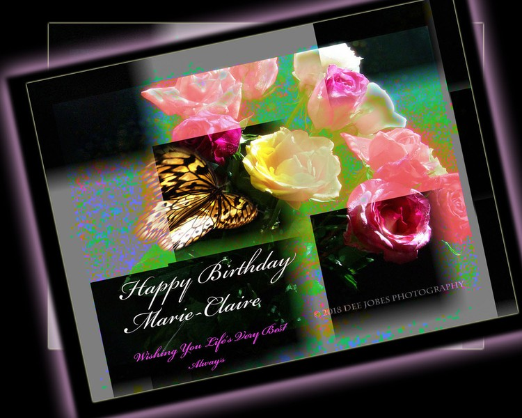 Happy Birthday Marie-Claire