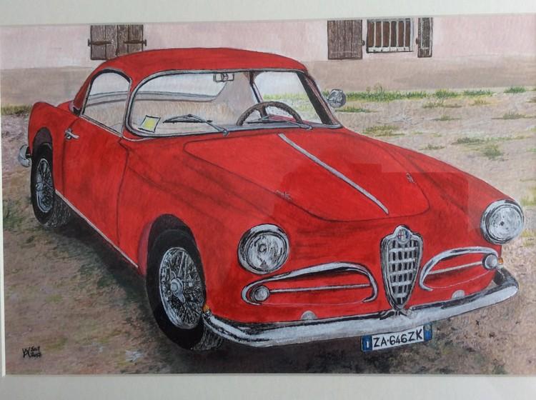 A 1957 1900 Alfa Romeo CSS Superleggera