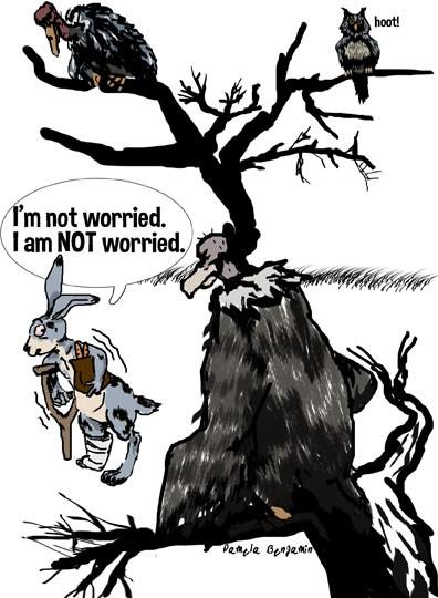Macabre Cartoon Comics: Preoccupied