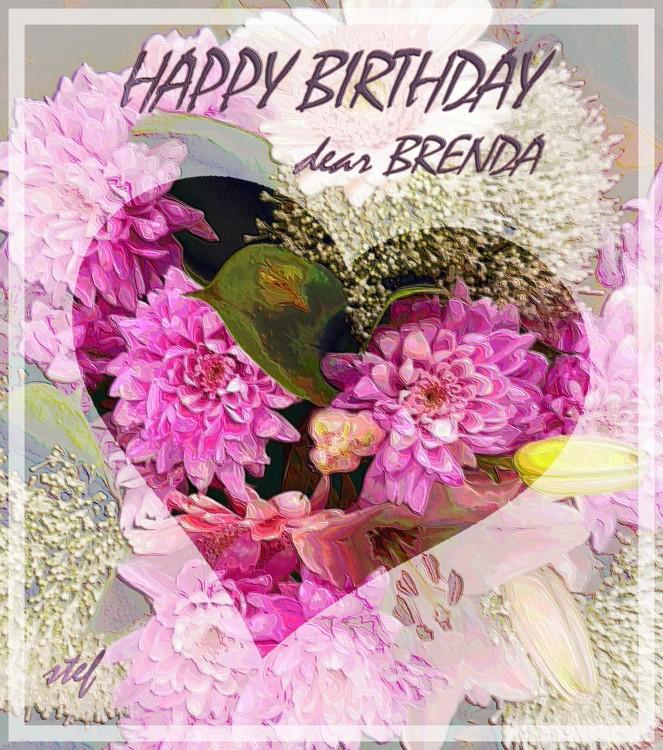 B.D.greetings for Brenda