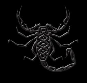Celtic knot scorpion - photo#12