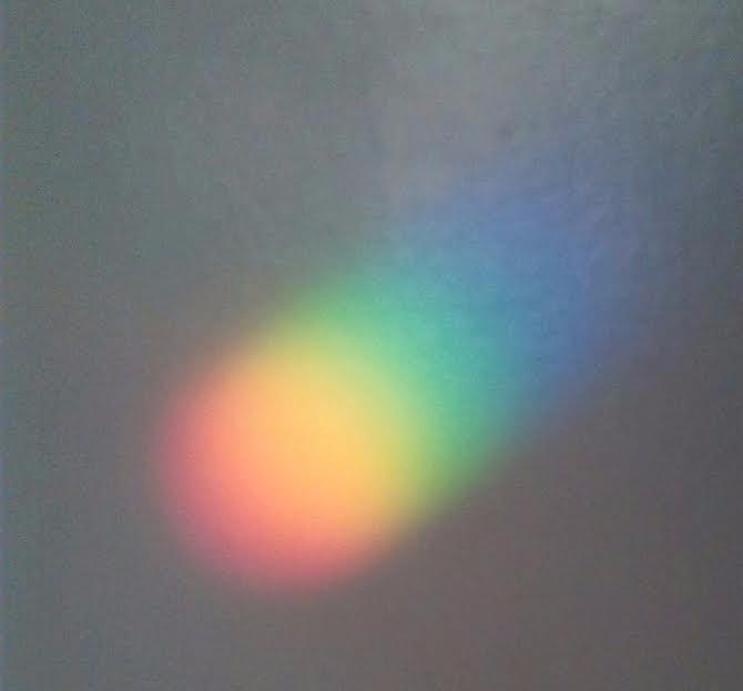 Rainbow Light On Wall