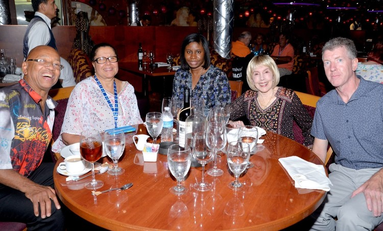 Carnival Miracle Dining Table 217