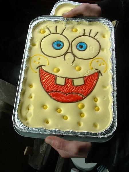 Sponge Bob Ice Cream Cake