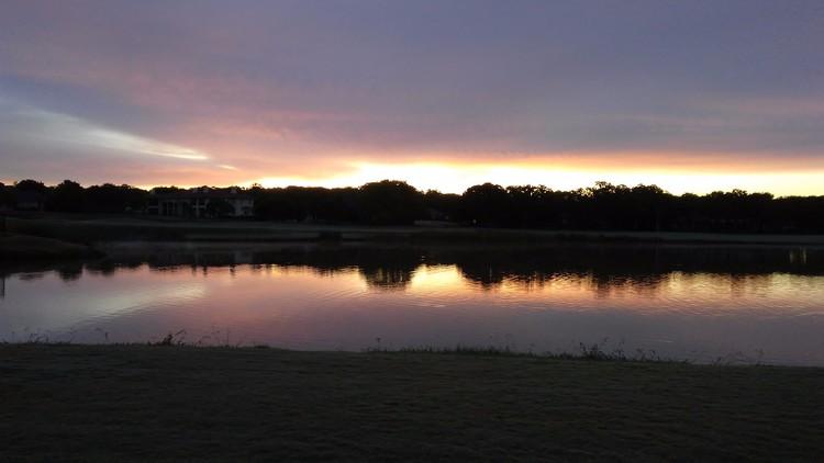 Sunrise at work