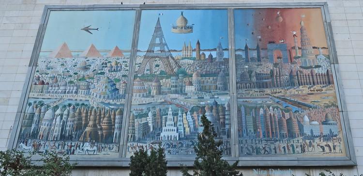 Painting On The Wall -La Tour Du Monde En Jours