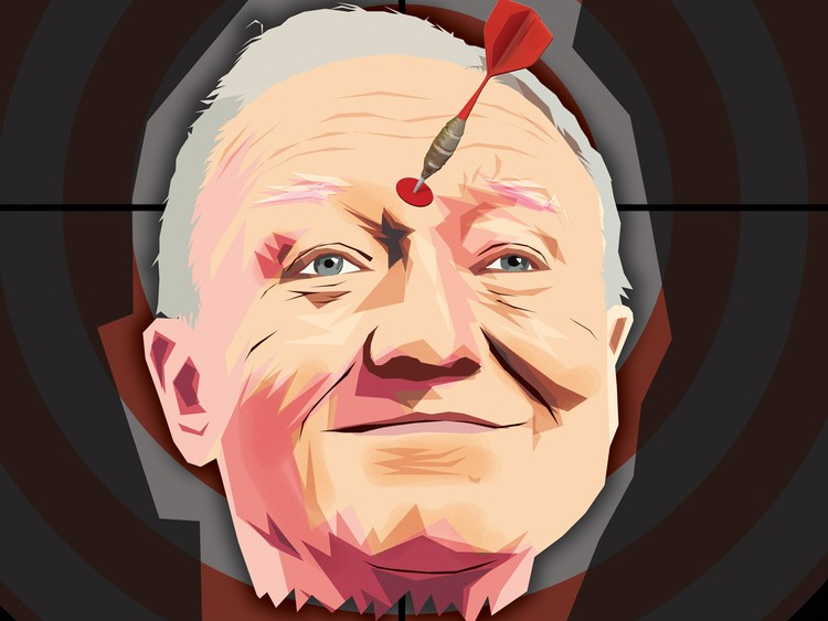 Ken Livingstone by Daniel Morgenstern