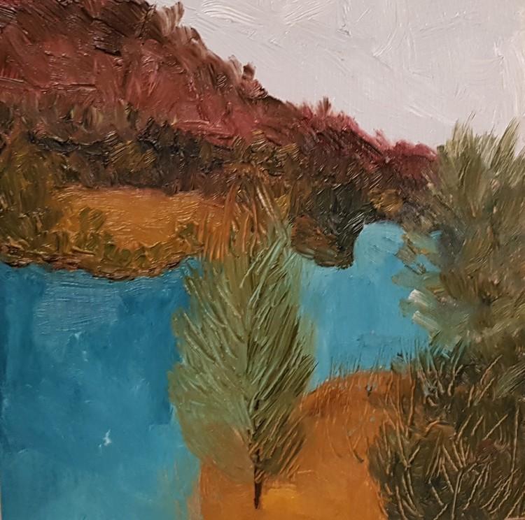 Landscape, Spain, 2018